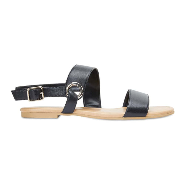 Desire Sandal in Black Leather
