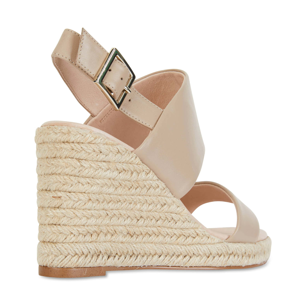 Dice Espadrille in Nude Leather