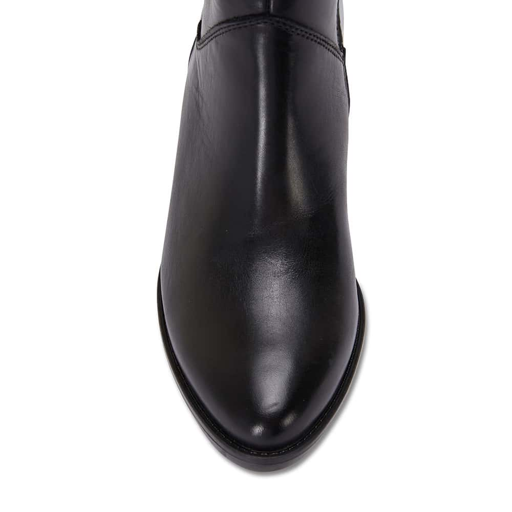 Dillon Boot in Black Leather