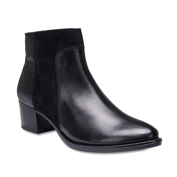 Duncan Boot in Black Leather