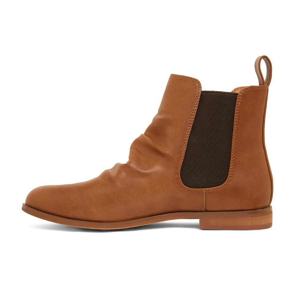 Eckna Boot in Tan Smooth