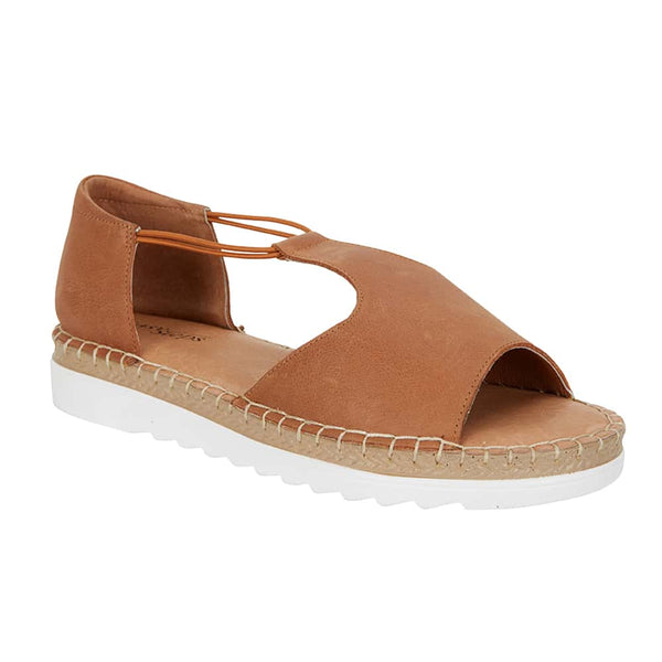 Eddie Sandal in Tan Leather