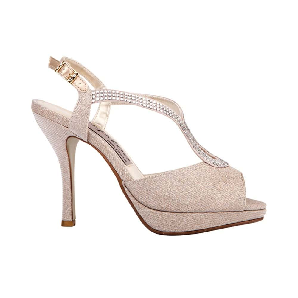 Ellis 2 Heel in Nude Satin