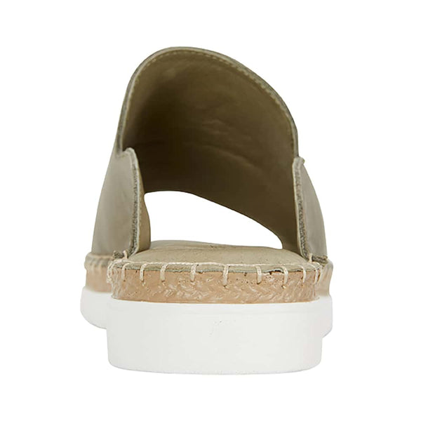 Elsa Sandal in Khaki Leather