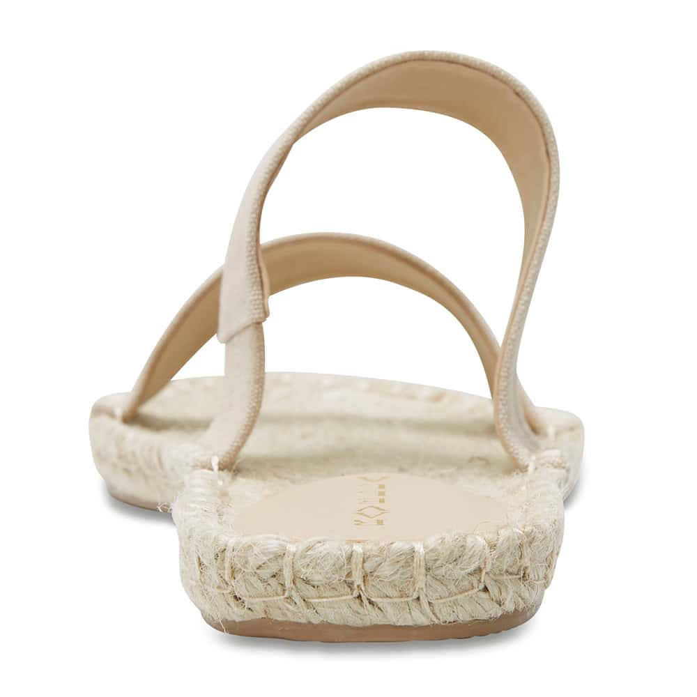 Embassy Sandal in Natural Canvas