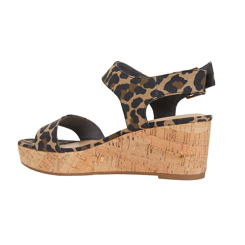Ember Heel in Animal Fabric