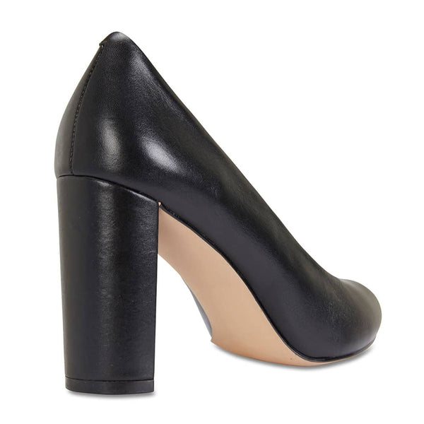 Epic Heel in Black Leather