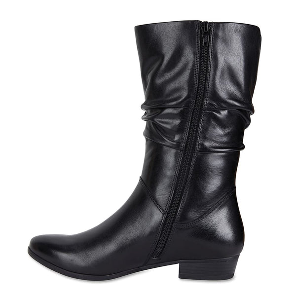 Ethan Boot in Black Leather