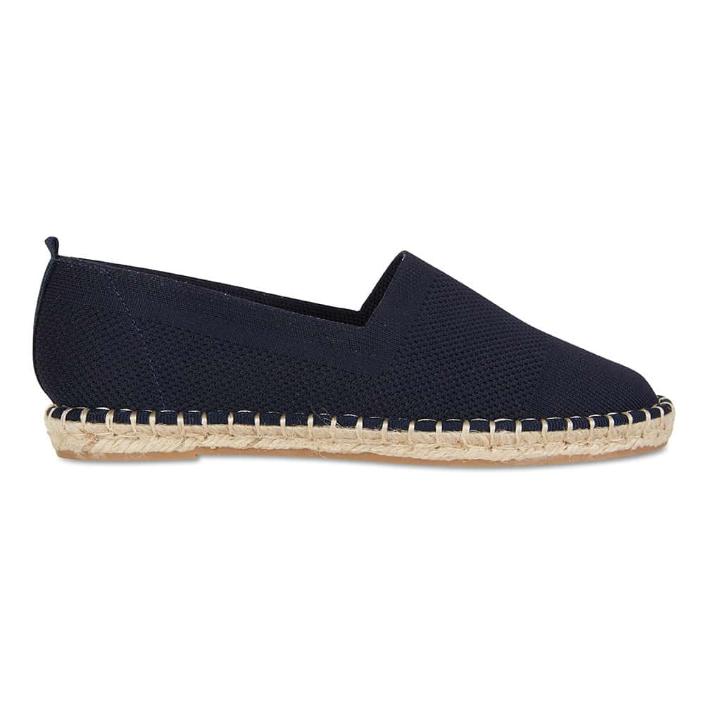 Excite Loafer in Navy Canvas