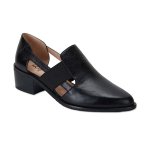 Expose Loafer in Black Oil Leather