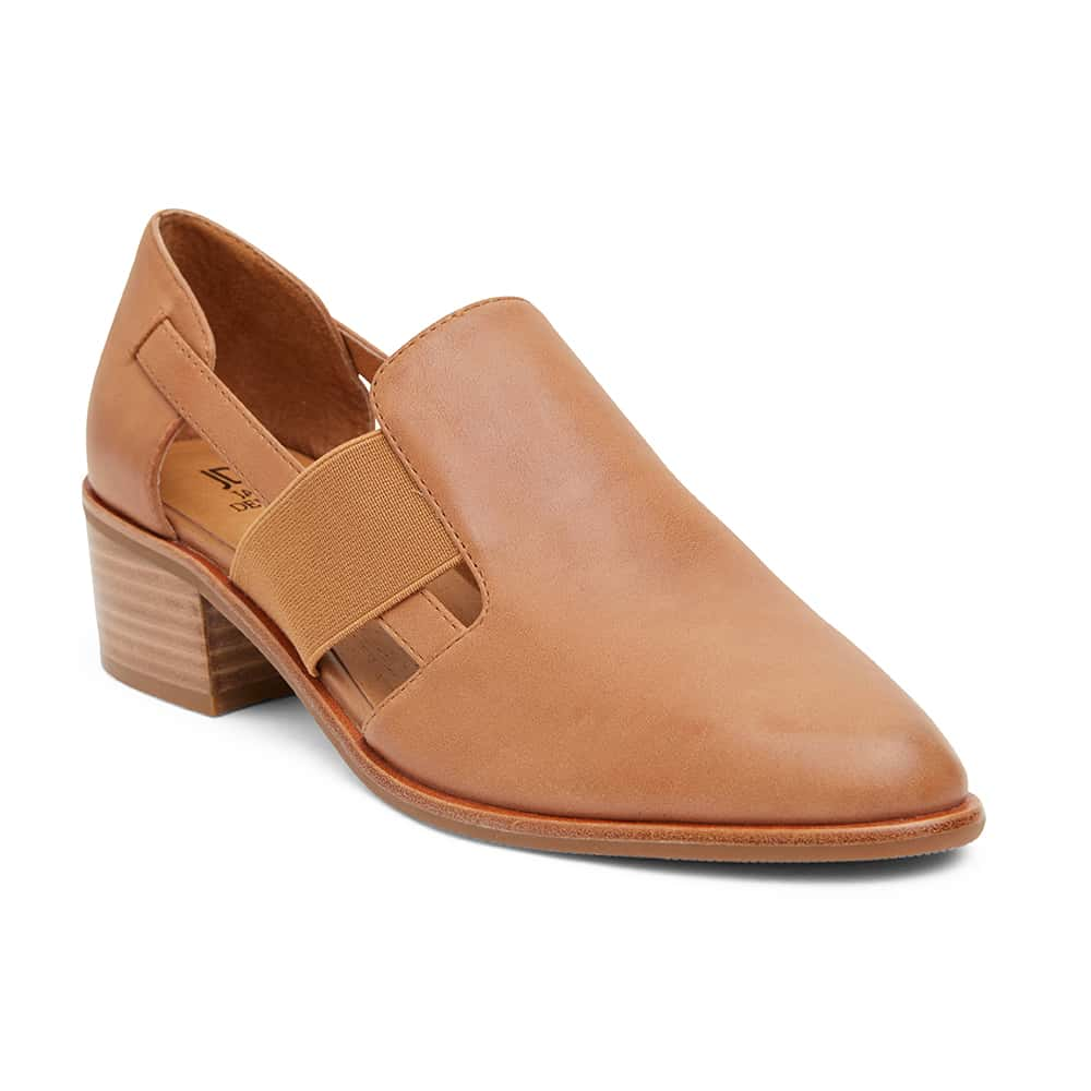Expose Loafer in Tan Leather
