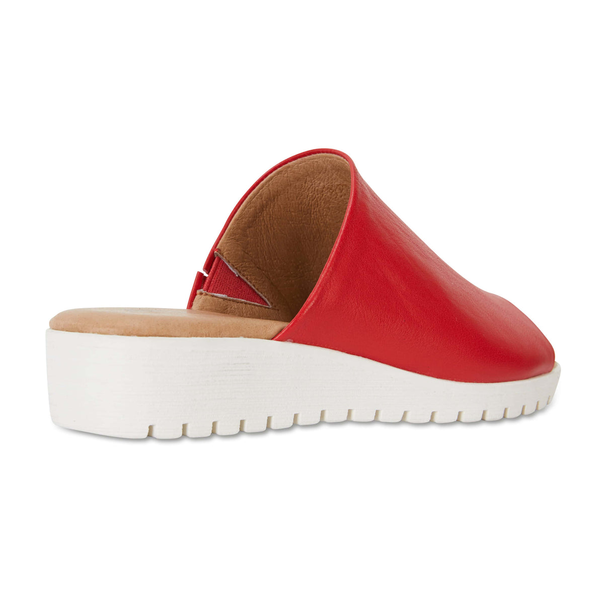 Fate Slide in Red Leather