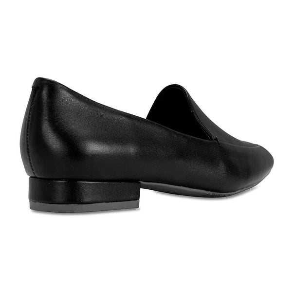 Fifi Loafer in Black Leather