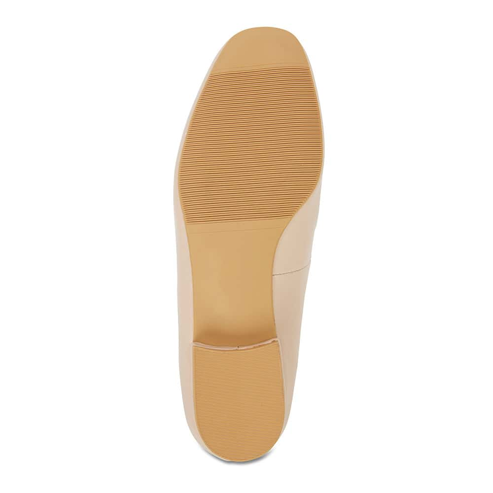 Fifi Loafer in Nude Leather