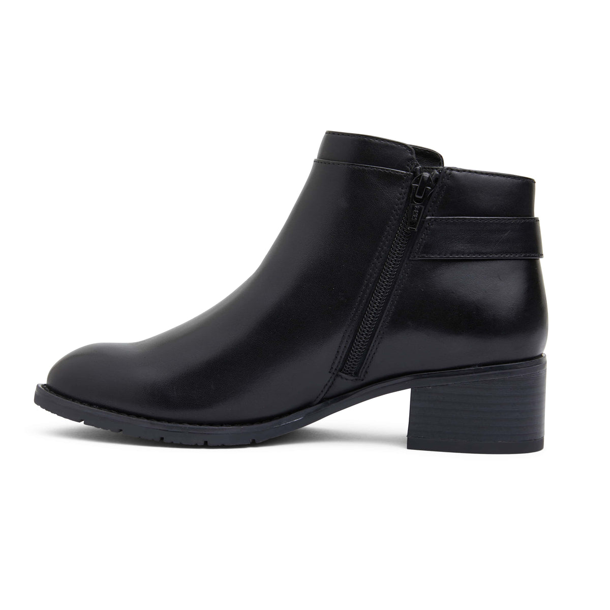 Fresco Boot in Black Leather
