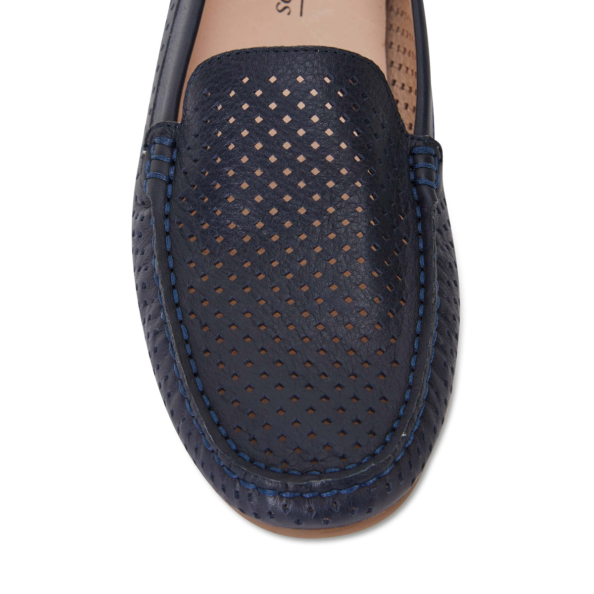 Gabriel Loafer in Navy Leather