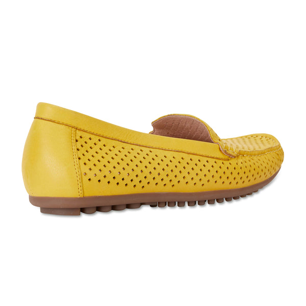 Gabriel Loafer in Yellow Leather