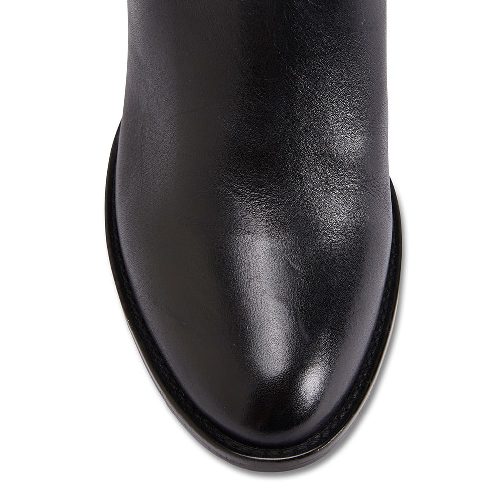Genesis Boot in Black Leather