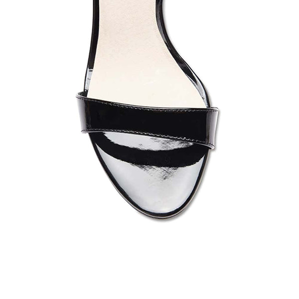 Goddess Heel in Black Patent