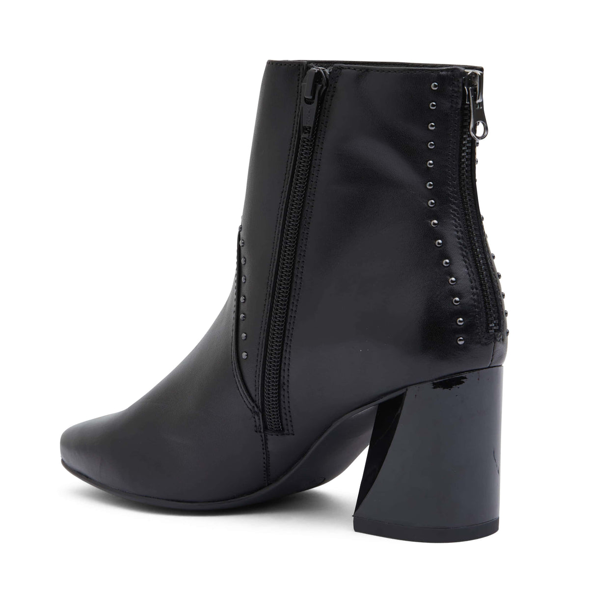 Grenada Boot in Black Leather
