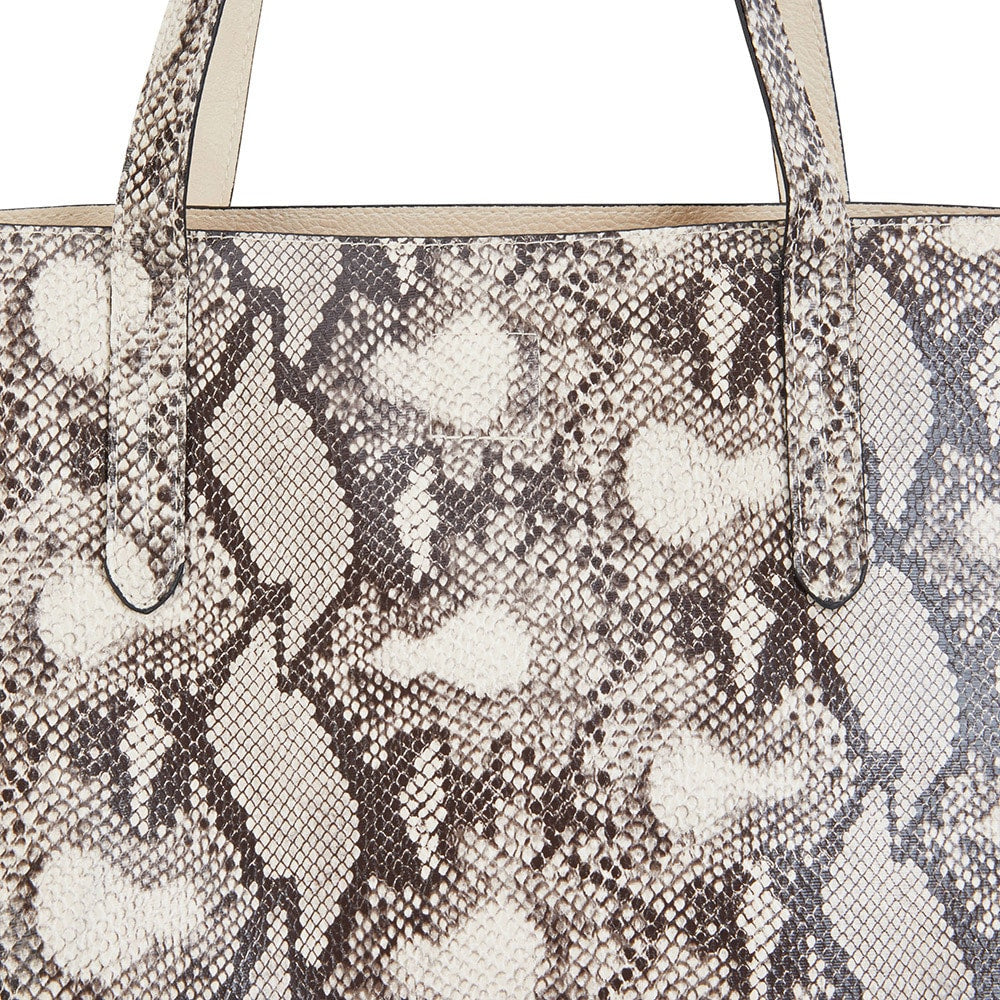 Charlie Handbag in Snake Fabric