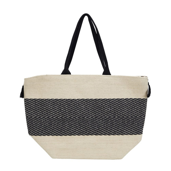 Faith Handbag in Natural Fabric