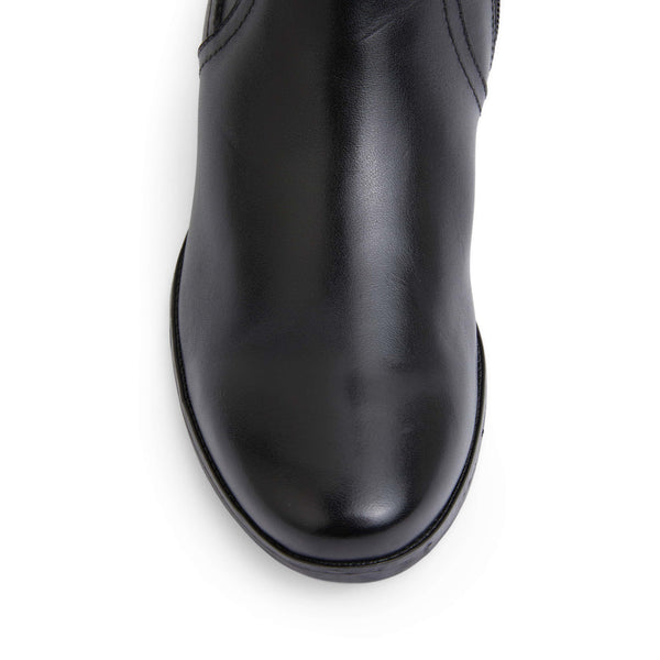 Hamburg Boot in Black Leather