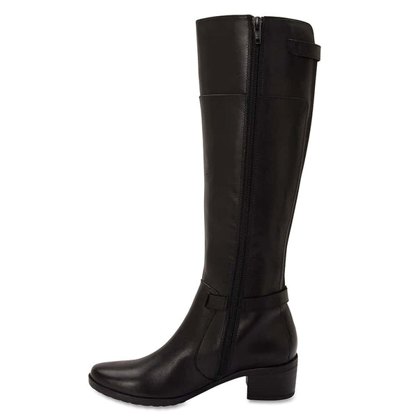Hamish Boot in Black Leather