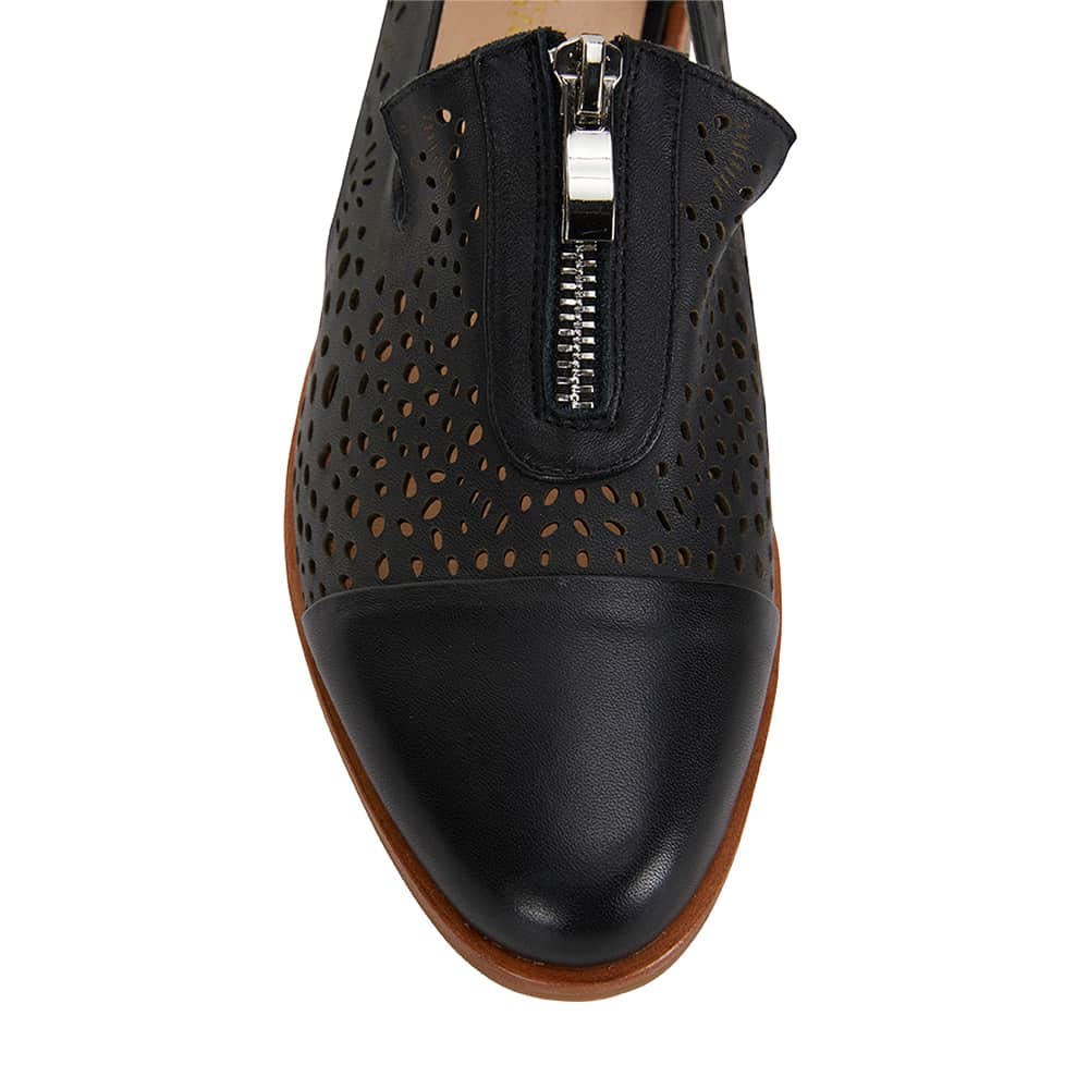 Hanover Loafer in Black Leather