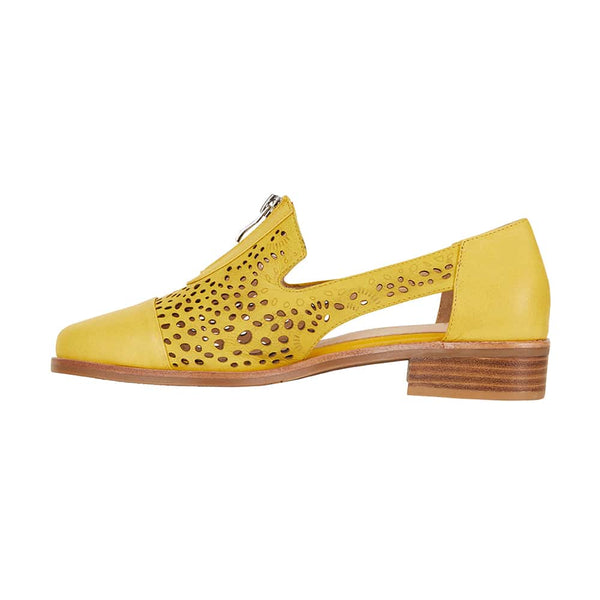 Hanover Loafer in Yellow Leather