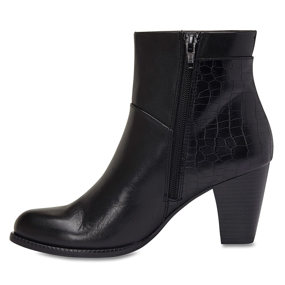 Hansen Boot in Black Leather