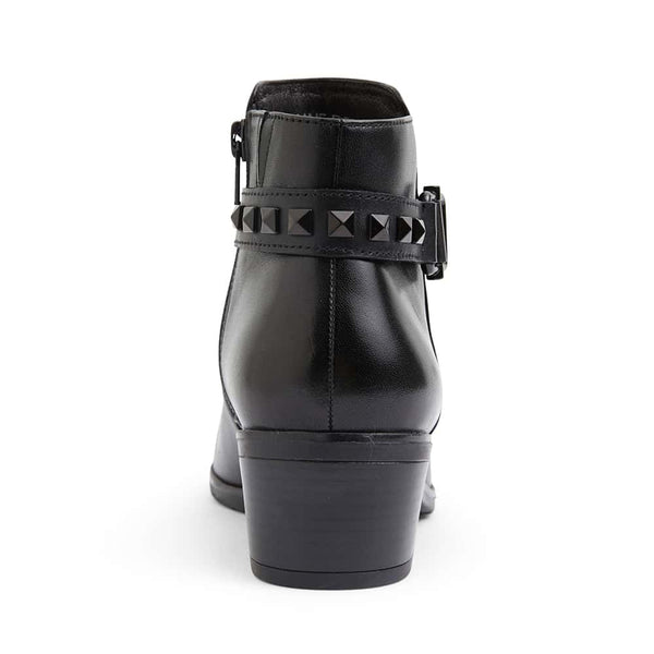 Harland Boot in Black Leather