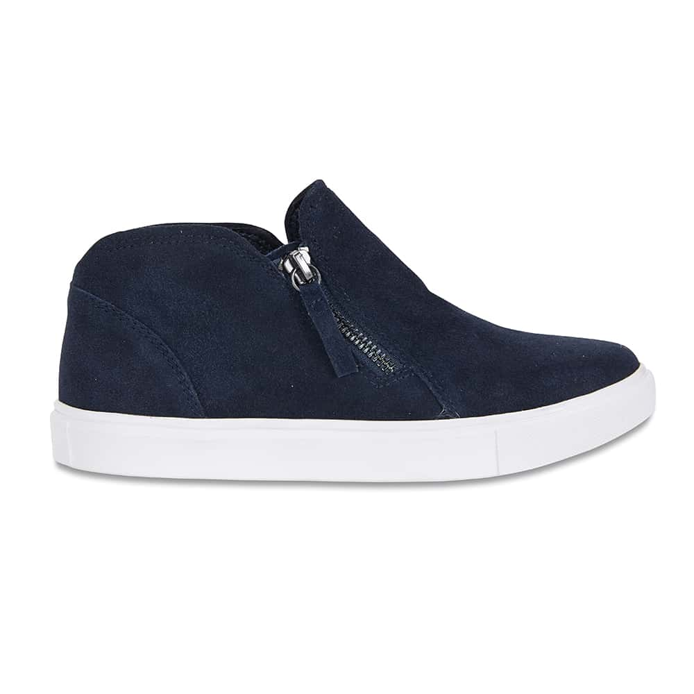 Harvey Sneaker in Navy Suede
