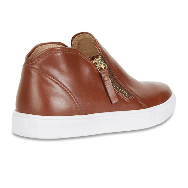 Harvey Sneaker in Tan Leather