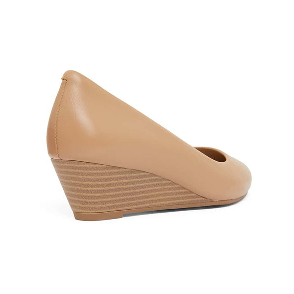 Henry Heel in Camel Leather