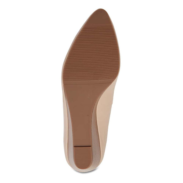 Henry Heel in Nude Leather