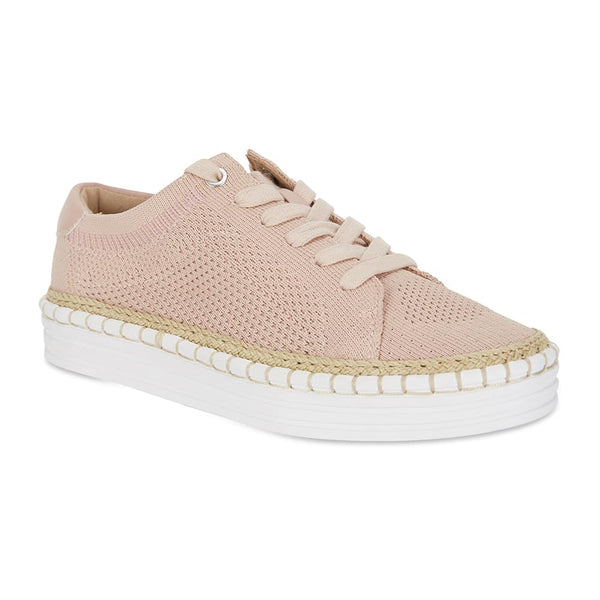 Herald Sneaker in Blush Fabric