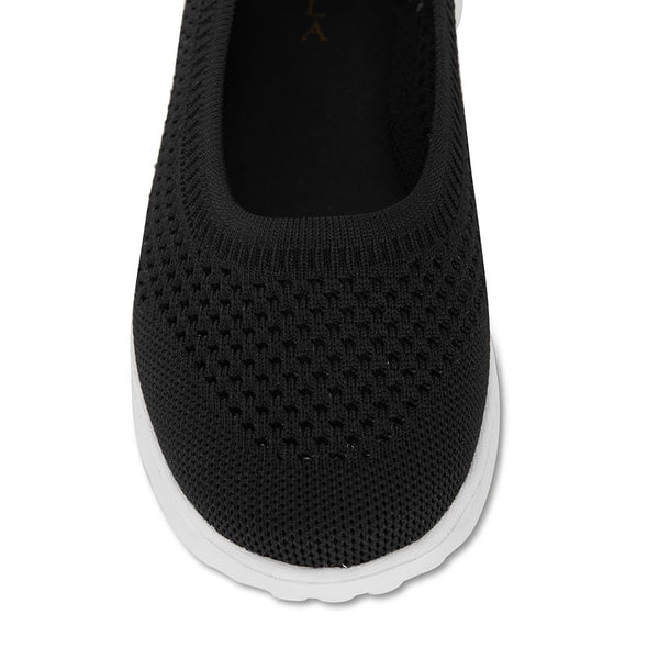 Hitch Sneaker in Black Fabric