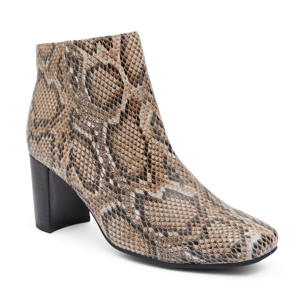 Holland Boot in Neutral Snake Leather