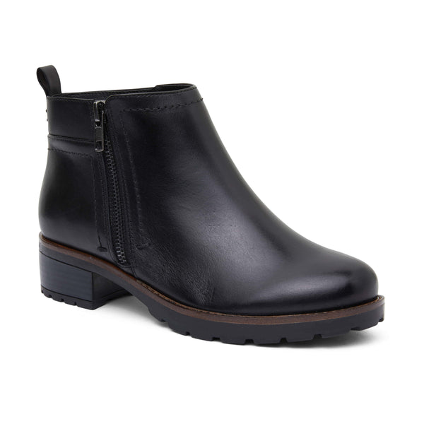 Ibis Boot in Black Leather