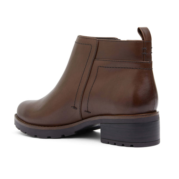 Ibis Boot in Brown Leather