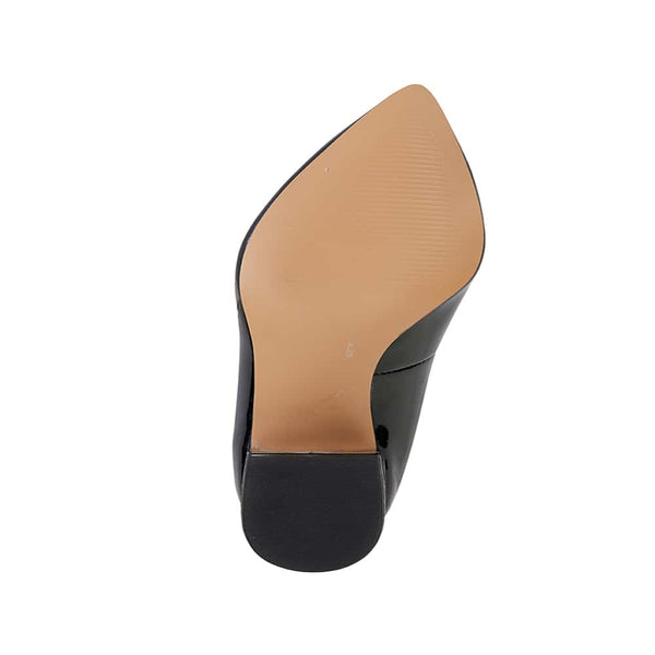 Idol Heel in Black Patent