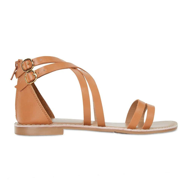 Imagine Sandal in Tan Smooth