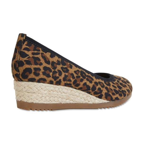 Inferno Espadrille in Animal Fabric