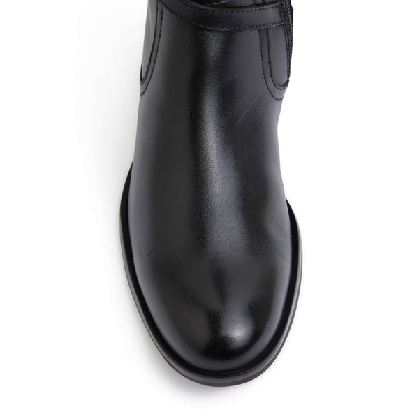 Ivana Boot in Black Leather