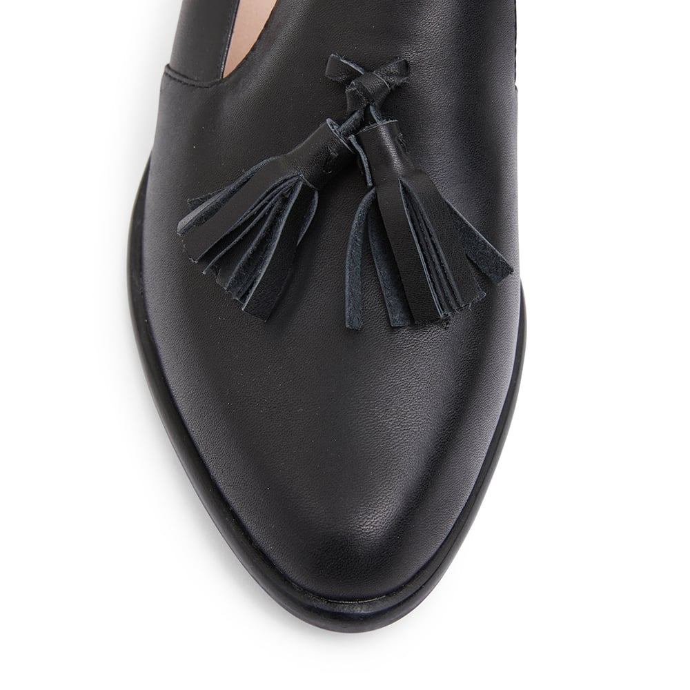 Jacob Loafer in Black Leather