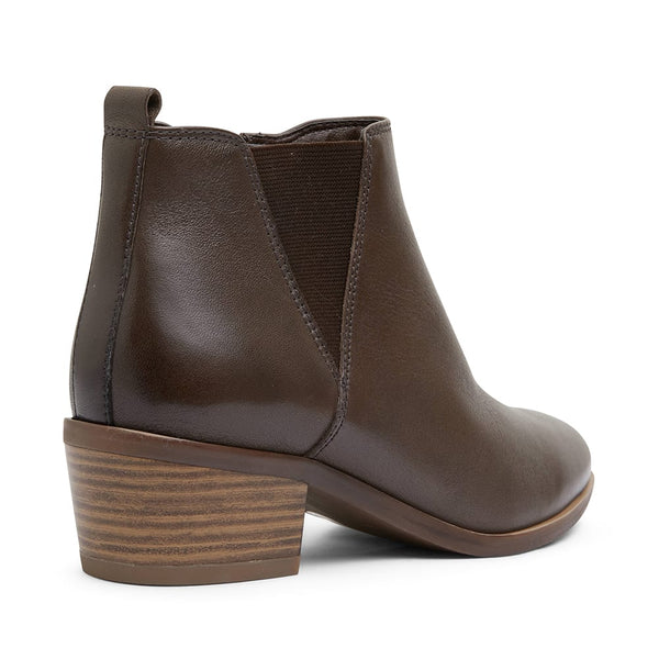 Jarrett Boot in Khaki Leather