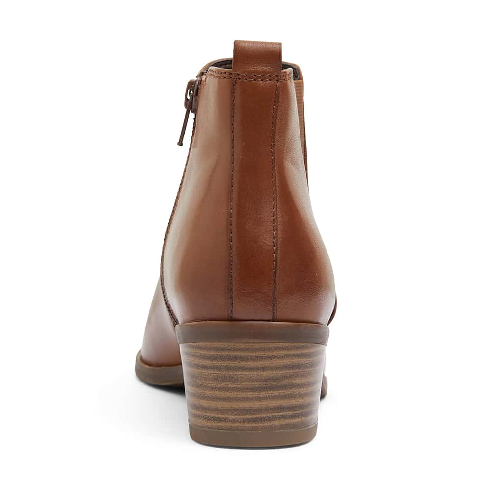 Jarrett Boot in Mid Brown Leather