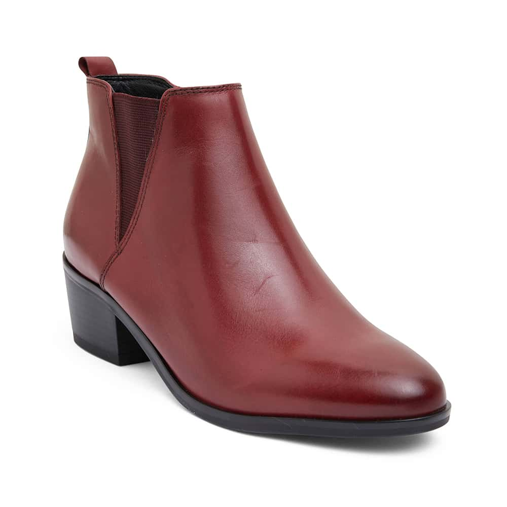 Jarrett Boot in Red Leather