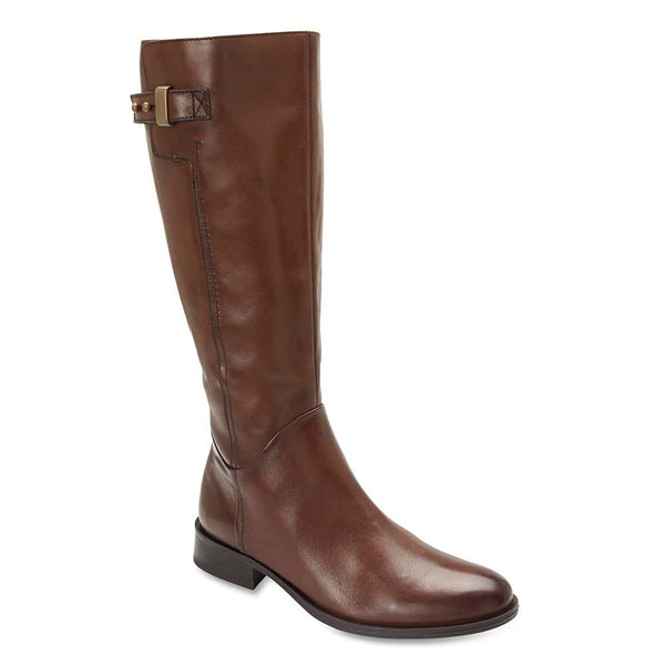 Jenna Boot in Brown Leather